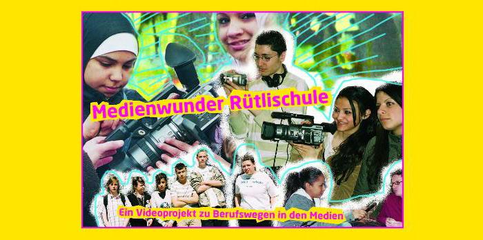 MEDIENWUNDER RÜTLISTRASSE - ein Videoprojekt zu Berufswegen in den Medien